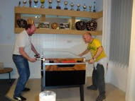 Photo of table football game